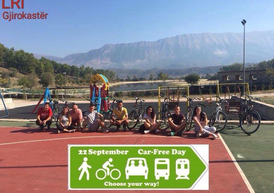 Aktiviteti i LRI Gjirokastër në ditën pa makina